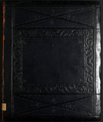 Black book binding