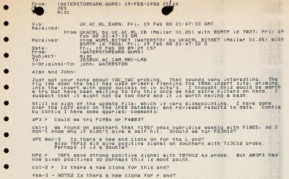 email between coulson and waterston