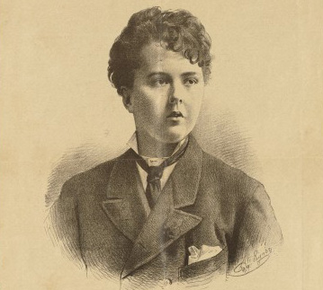 Drawing of 'Comtesse Sarolta Vay' from 'Wiener Tagblatt'. Wellcome Image no. L0063703