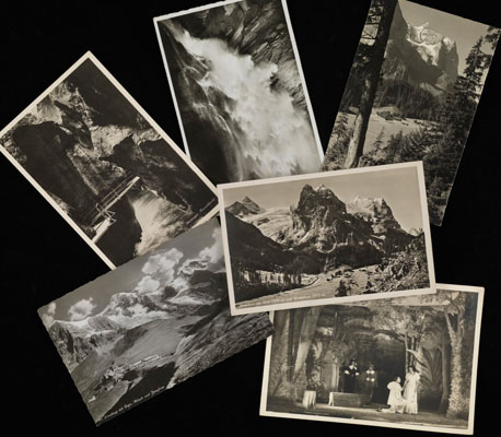 Postcards collected on Swiss holidays. Wellcome Library Archives.PP/SHF/A/C/7.