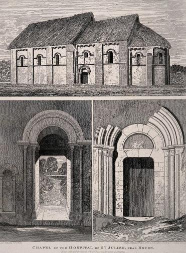 Chapel of the St. Julien Hospital, Rouen: plus details of th