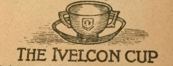 Verso of bookmark advertising Ivelcon beef and vegetable food beverage. Yeovill: Aplin & Barrett, ca. 1880s