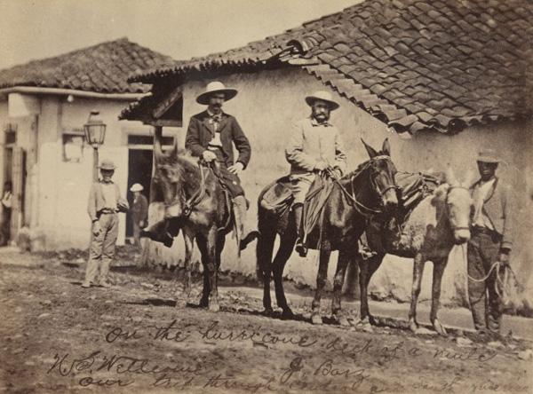 Photograph of Henry Wellcome in Ecuador, 1878 (WA/HSW/PH/B.1)