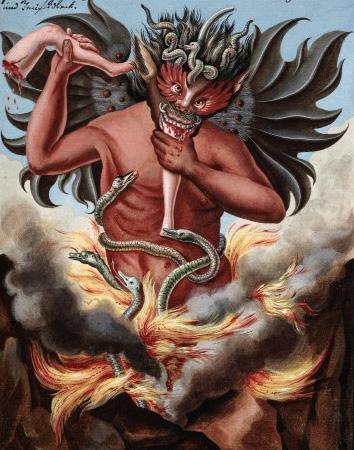L0025428 The Prince of Darkeness: Dagol; c. 1775