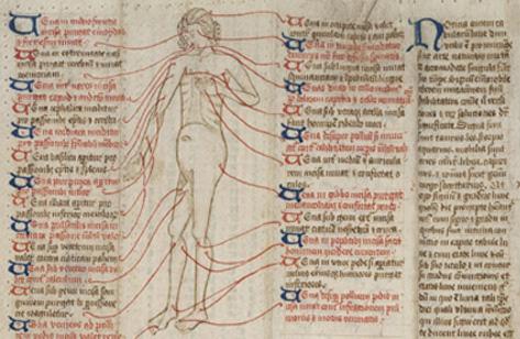 L0020781 Medieval Folding Almanac