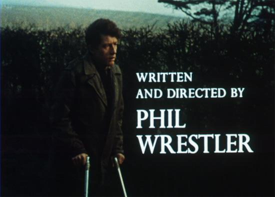 Still from The Contact, starring John Hurt.
