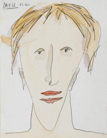 Self portrait of Bobby Baker