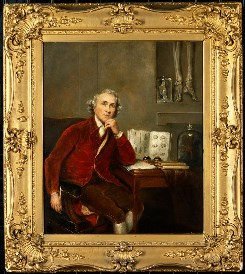 John Hunter (1728-1793), surgeon and anatomist. Oil painting after Sir Joshua Reynolds. Wellcome Images no. V0017905
