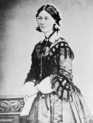 Portrait of Florence Nightingale.  Wellcome Images No. M0010374.