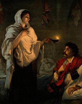 Florence Nightingale. Wellcome Images No. V0006579.