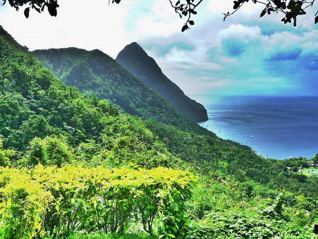 Briton, St Lucia