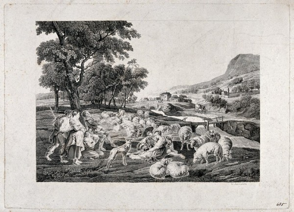 Etching after P.P. Rubens, ca. 1810. Wellcome Library no. 2027436i
