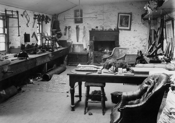 Photograph of an Upholstry studio