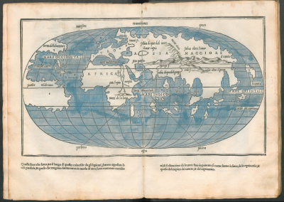 World map from 1534