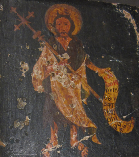 John the Baptist. Image credit: Elma Brenner.