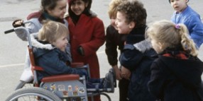 AS0000168F11 Child with disability, wheelchair