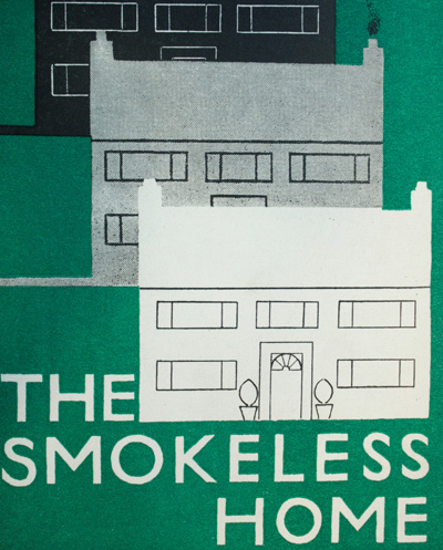 Cover of leaflet against domestic smoke pollution