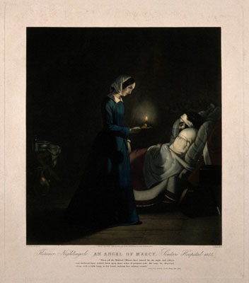 Florence Nightingale. Wellcome Images No. V0006570.