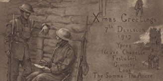 Christmas greeting 1917_feature