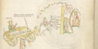 Image from Apocalypse manuscript.
