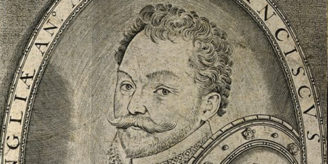 V0001645 Sir Francis Drake. Line engraving by T. de Leu after J. Rabe Credit: Wellcome Library, London. Wellcome Images images@wellcome.ac.uk http://wellcomeimages.org Sir Francis Drake. Line engraving by T. de Leu after J. Rabel. Published:  -   Copyrighted work available under Creative Commons Attribution only licence CC BY 4.0 http://creativecommons.org/licenses/by/4.0/