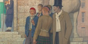 Cayley Robinson painting
