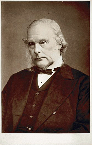 Portrait of The Right Honourable Joseph Lister, 1st Baron Lister [1827 – 1912], British surgeon, aged about 75 Photograph c. 1900 by Elliot & Fry. Wellcome Images  L0034558