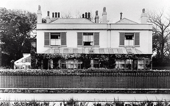 Park House, Walmer, Kent, where Lister died. Wellcome Images M0006540
