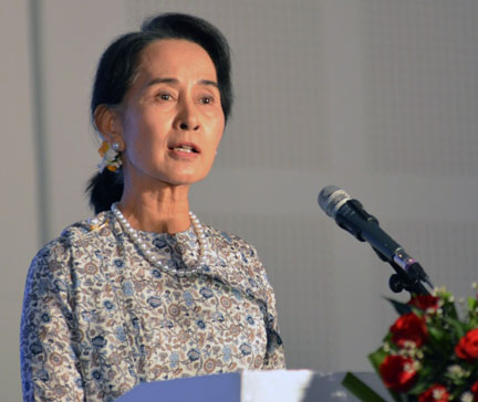 Aung San Suu Kyi: Greater Press Freedom Means Greater Responsibility