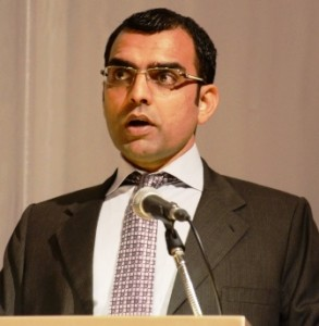 Pakistani journalist Umar Cheema