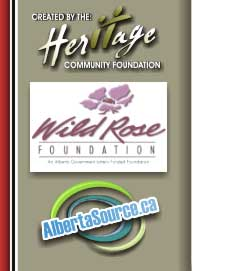 Heritage Community Foundation, Wild Rose Foundation and Albertasource.ca