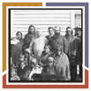 Chief Big Belly and Catholic group with Sarcee \(Tsuu T\'ina\) People