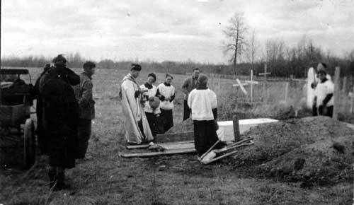 Funeral of the Mailloux boys