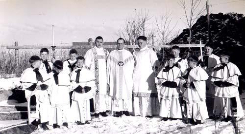 Fr. Tardif's mass