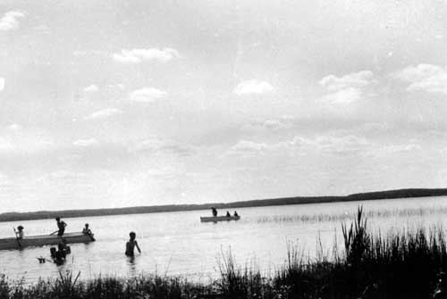 Summer Camp at  St. Vincent lake