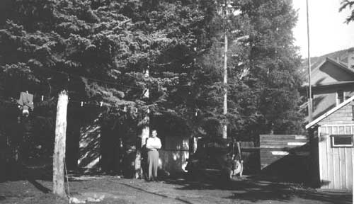 Ernest Forrend near Cabins