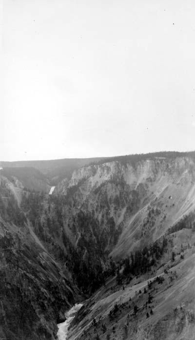 Ravin de montagne