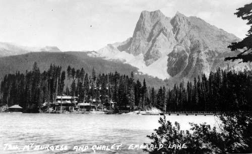 Mt Burgess and Emerald Lake