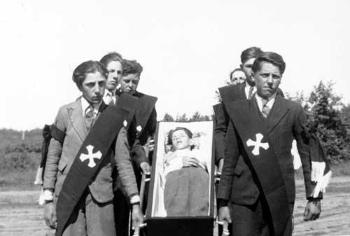 Funeral of Hervé Langevin