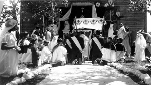 Eucharistic congress of the diocese, 1936