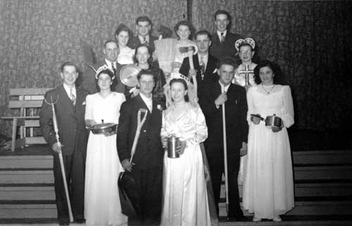 Weddings at Saint-Vincent in 1948