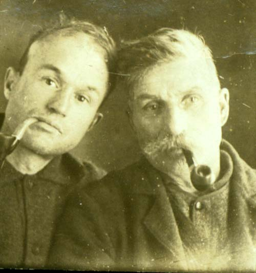 Geoirges Pharand et papa