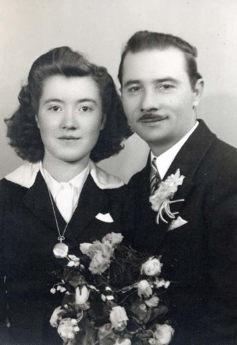 Valentine Chalifoux et époux Blais