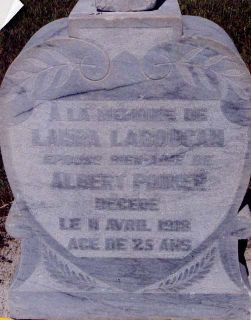 Tombstone Laura Laboucane