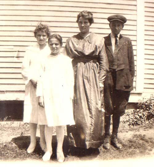 Chalifoux with aunt