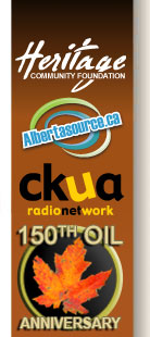 hertiage community foundation, ckua, albertasource