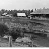The Kinna homestead was built beside  the  Medicine River, early 1900s.