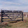 Approximately one hundred Estonian pioneers and their descendents are buried at the Estonian Cemetery near Linda Hall in the Stettler area.