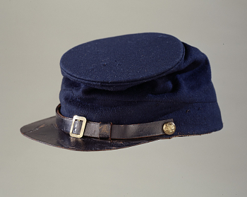Enlisted Man's Forage Cap, Model 1858
