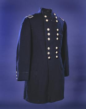 Major General George McClellan's Coat Worn at Antietam,  Name: McClellan, George B.